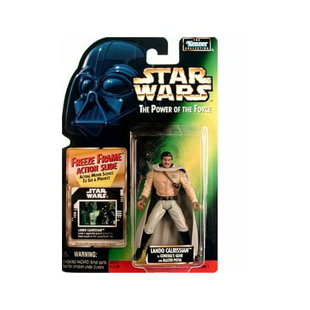 Star Wars: Power of the Force Freeze Frame Lando Calrissian in Generals Gear Action