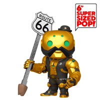 "Funko POP! Games: Overwatch - 6"" B.O.B. Metallic Gold - Walmart Exclusive"