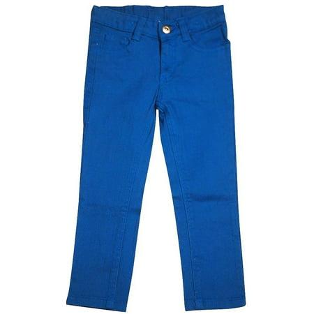 Carter Uniform - Carters Watch the Wear - Little Girls Twill Pant Blue / 4