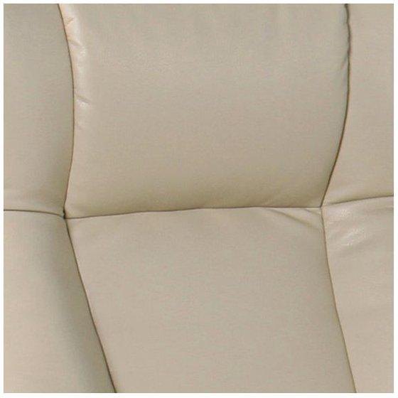 Astounding Benchmaster Morgan Stucco Faux Leather Ottoman And Swiveling Recliner Creativecarmelina Interior Chair Design Creativecarmelinacom