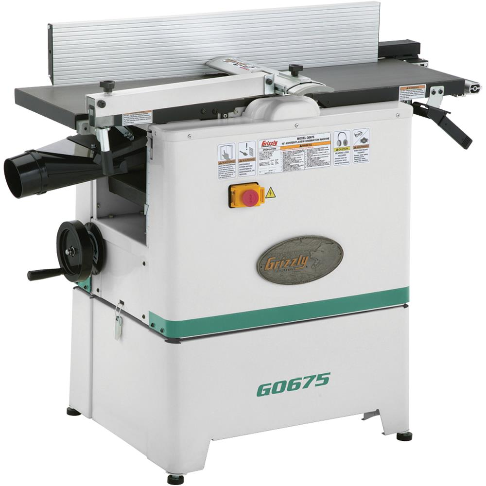 "Grizzly G0675 10"" Jointer Planer Combo by"