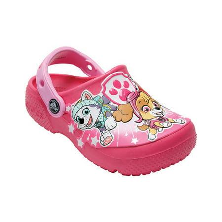 niesamowita cena nowy autentyczny rozsądna cena Infant Girls' Crocs FunLab Paw Patrol Clog