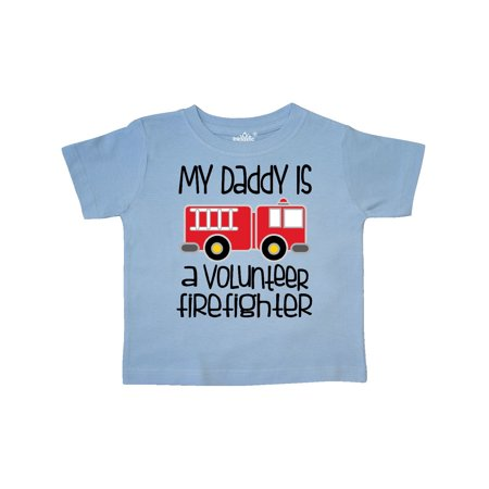 f4cc565b6 Inktastic - Volunteer Firefighter Daddy Toddler T-Shirt - Walmart.com