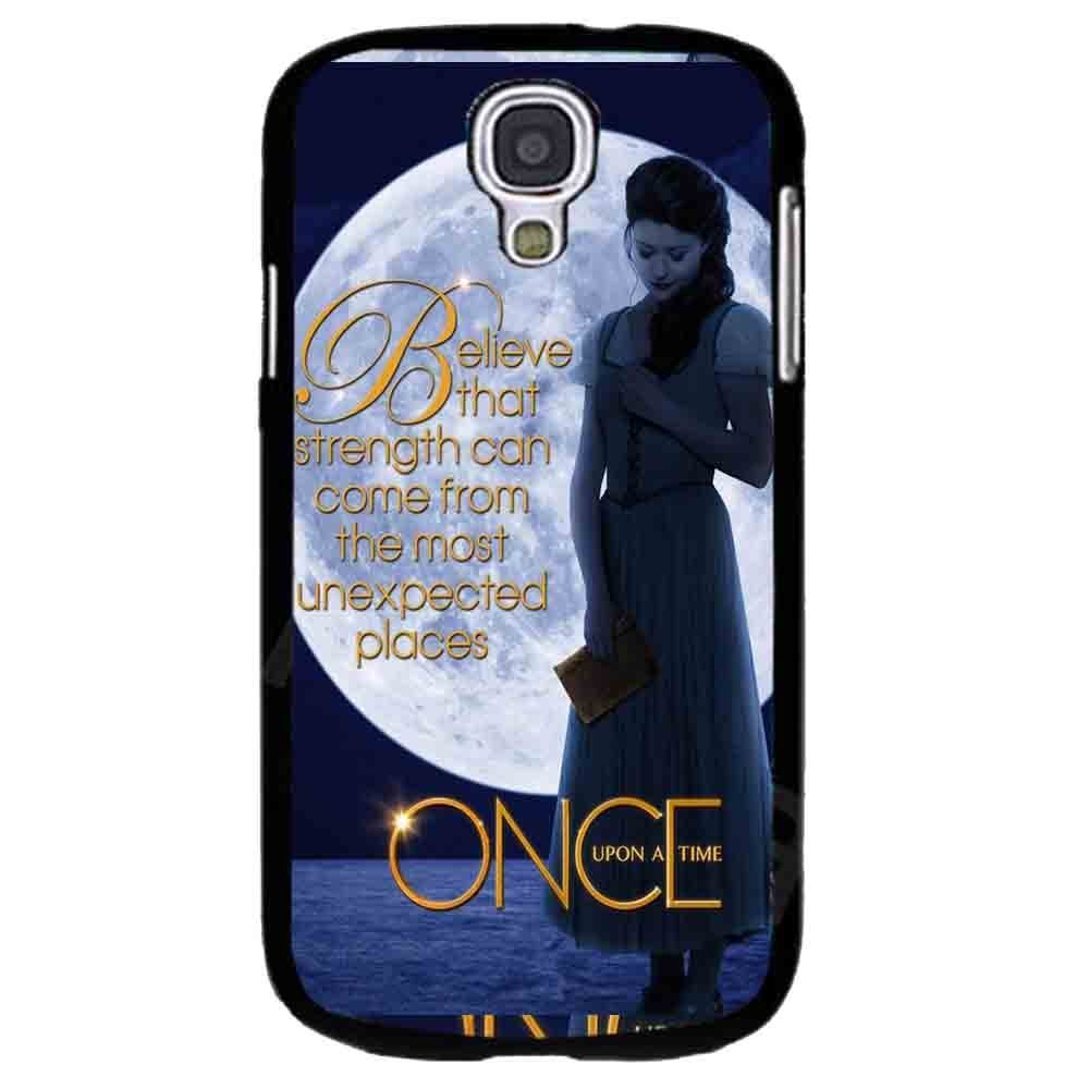 Ganma Once Upon a Time Belle Case For Samsung Galaxy Case (Case For Samsung Galaxy S4 white)