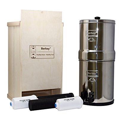 berkey water filter healthy bundle with black bb9 purifie...