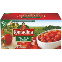 (6 Pack) Contadina Petite Diced Tomatoes, 15 oz cans