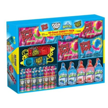 Bazooka Candy Brands, Variety Pack, 40 Ct](Candy Brands)
