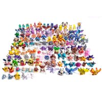 48 PCS Anime Poke Figures. Great Variety of Pokemon Collection. Perfect for Birthday, Cake Topper and Gifts!