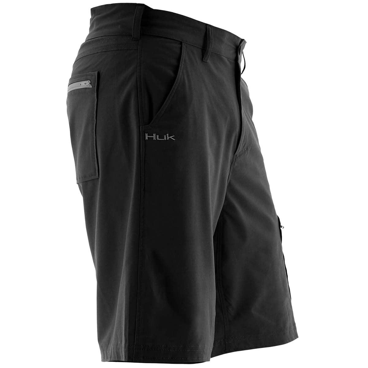 "Huk Men/'s Next Level Performance 10.5/"" Fishing Shorts"