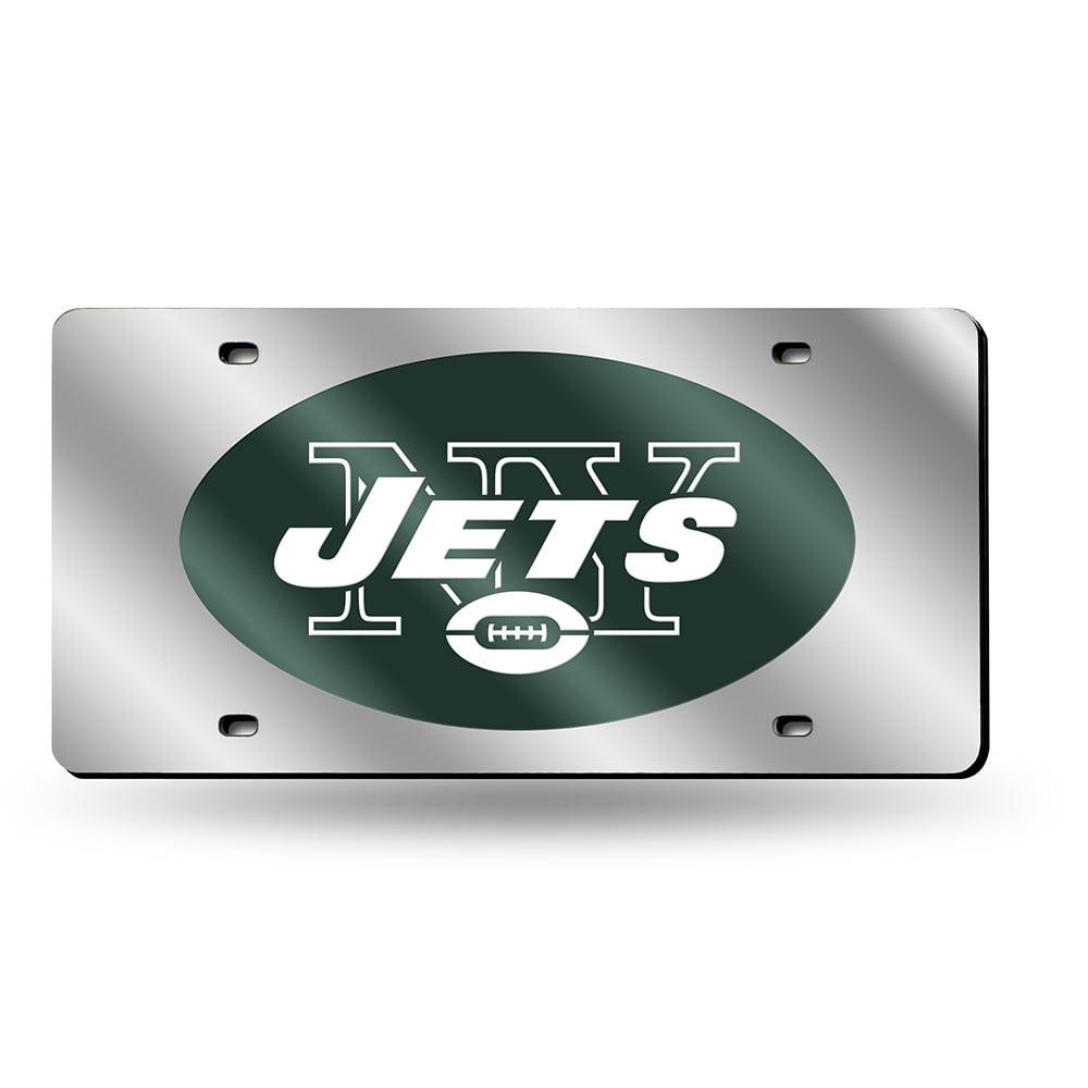 NFL New York Jets Laser-Cut License Plate