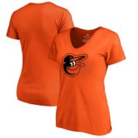 Baltimore Orioles Women's Primary Logo T-Shirt - Orange