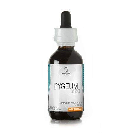 Pygeum Alcohol Herbal Extract Tincture, Super-Concentrated Wildcrafted Pygeum (Pygeum Africanum) Dried Bark