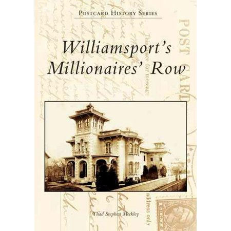 Cambridge Springs Pa Postcard - Williamsport's Millionaires' Row   (PA)  (Postcard History)