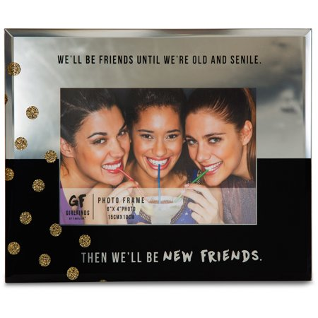 Pavilion New Friends 7 X 9 Mirrored Picture Frame Walmartcom