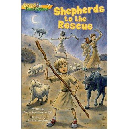 Cross Trekkers - Shepherds to the Rescue (Gospel Time Trekkers #1) - eBook
