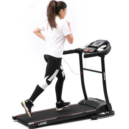 Merax L510C Folding Electric Treadmill Motorized Running Machine