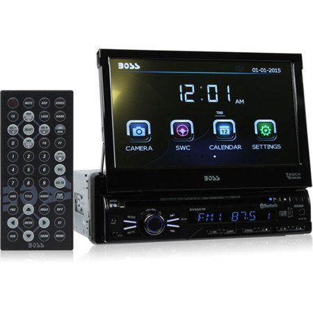 boss audio bv9967b single din 7 inch motorized touchscreen. Black Bedroom Furniture Sets. Home Design Ideas