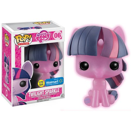 Funko Pop  My Little Pony Twilight Sparkle Glow In The Dark Figure  Walmart Exclusive