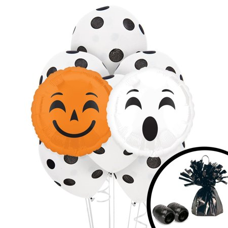 - Halloween Party Emoji Balloon Bouquet