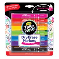 Take Note! 12ct. BL Dry Erase Markers in Various Colors