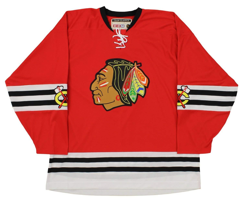 size 40 93944 0e1bb CCM NHL Men's Chicago Blackhawks Team Classic Jersey, Red