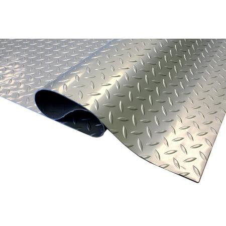 Roll Out Mat - IncStores Standard Grade 4ft x 4ft Nitro Garage Flooring Roll Out Floor Protecting Mats