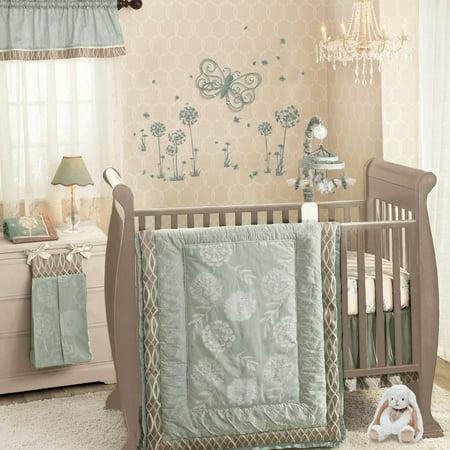 Lambs Ivy Tiffany 5 Piece Crib Bedding Set