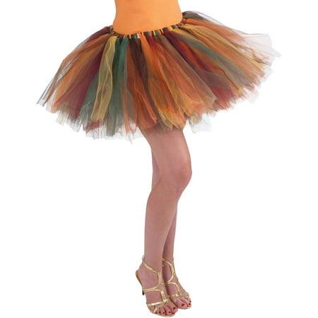 Autumn Tattered Fairy Tutu](Halloween Tattered Clothes)