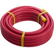 STEELMAN 50050 50-Foot x 3/8-Inch Rubber Air Hose, 3/8-Inch NPT fittings