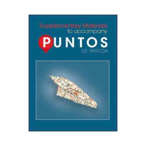 Supplementary Materials to Accompany Puntos