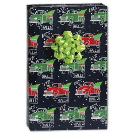 """""""X-6346H Deck the Halls Gift Wrap, 24"""""""" x 417' 1 per Roll"""""""