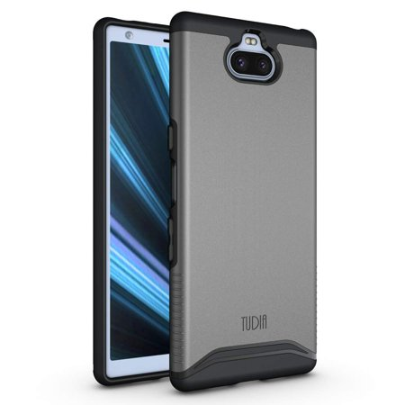 TUDIA Sony Xperia 10 Case, Slim Fit Premium Dual Layer Extreme Drop Protective Precise Cutouts Phone Cover ()