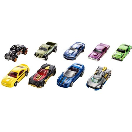 Hot Wheels 9 Die Cast Car Gift Pack  Styles May Vary