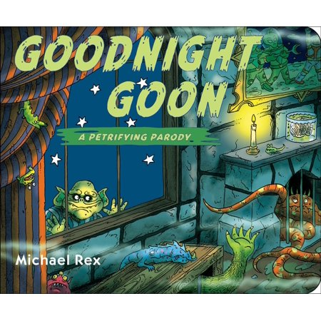 Goodnight Goon A Petrifying Parody (Board Book) - Maleficent Goons