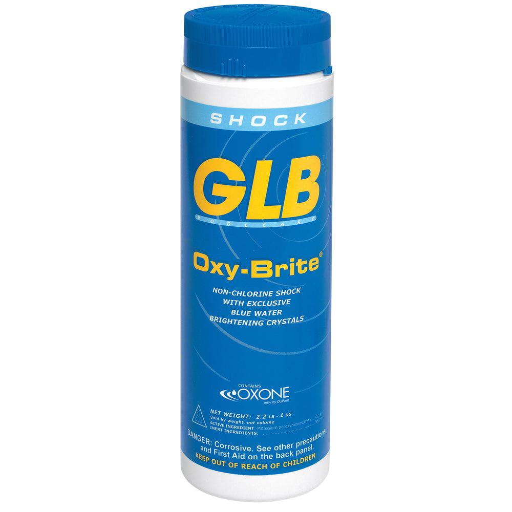 GLB Oxy-Brite Non-Chlorine Shock, 2.2 lb