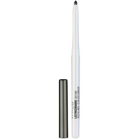 Maybelline Lasting Drama Light Eyeliner, Twinkle Black, 0.01 oz