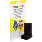 snazaroo Professional Stipple Face Painting Sponge, Black, 2 Pack
