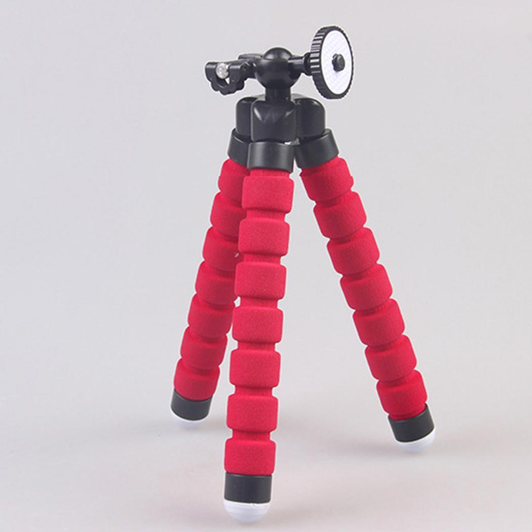 Portable and Adjustable Mini Phone Tripod Stand without Clip for Cellphone Ipad Digital Camera AMZSE