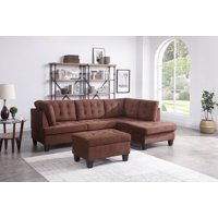 Chamption Sectional Ottoman , Chocolate