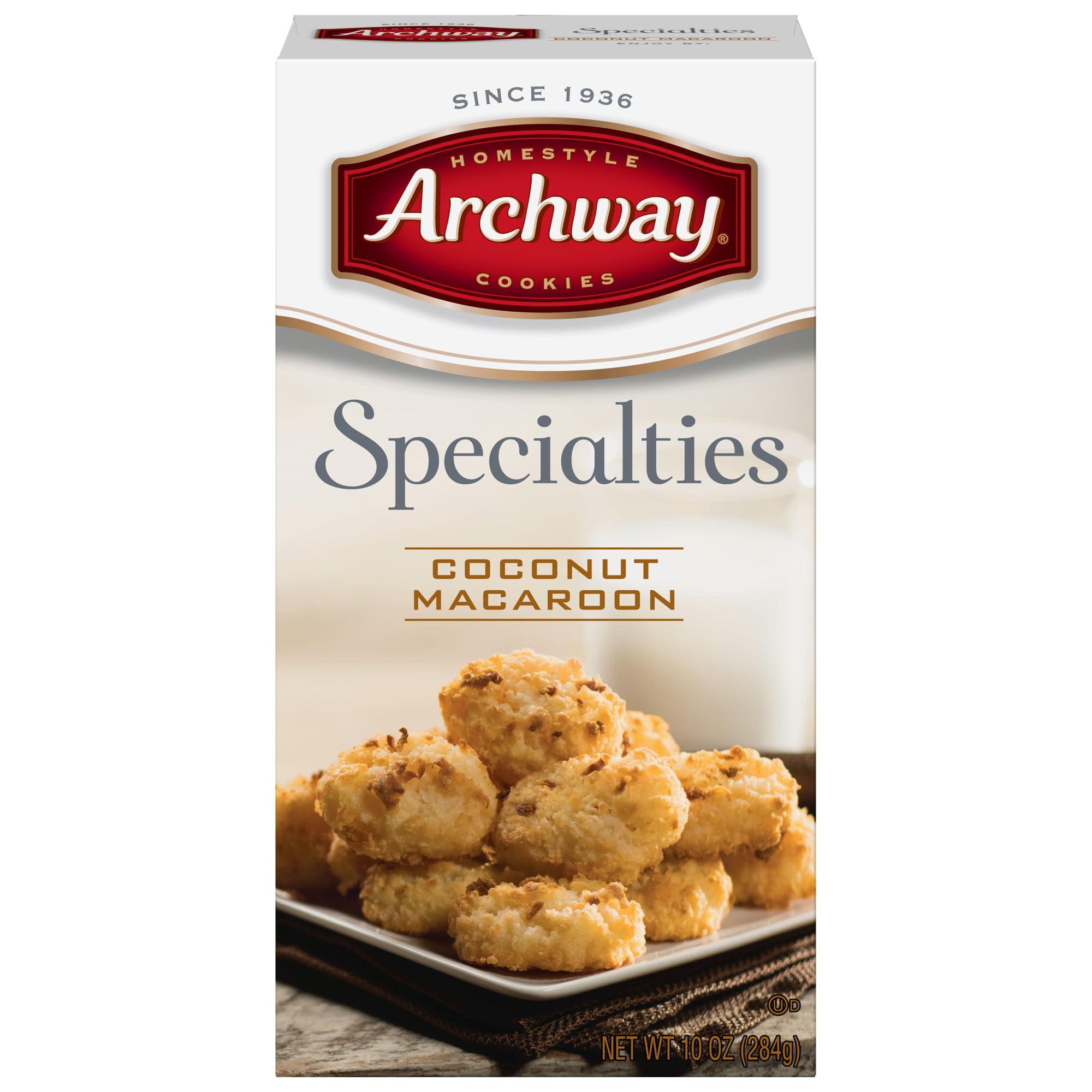 Archway Original Coconut Macaroon Cookies, 10 Oz
