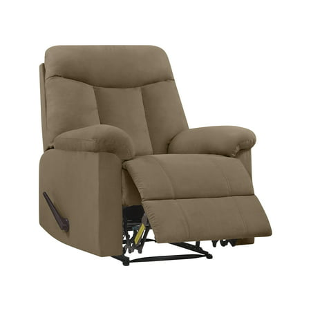 ProLounger Wall Hugger Microfiber Montero Back Recliner Chair, Multiple Colors ()