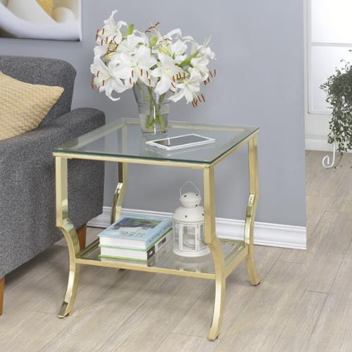 FHT Amy Glass End Table