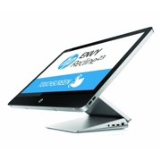 """HP Envy TouchSmart 23"""" Touchscreen All-in-One Desktop PC with Intel Dual-Core i3-4130T Processor (2.9 GHz), 4GB DDR3 Memory, 1TB Hard Drive and Windows 8 64-bit, 23-k010, Silver (New Open Box)"""