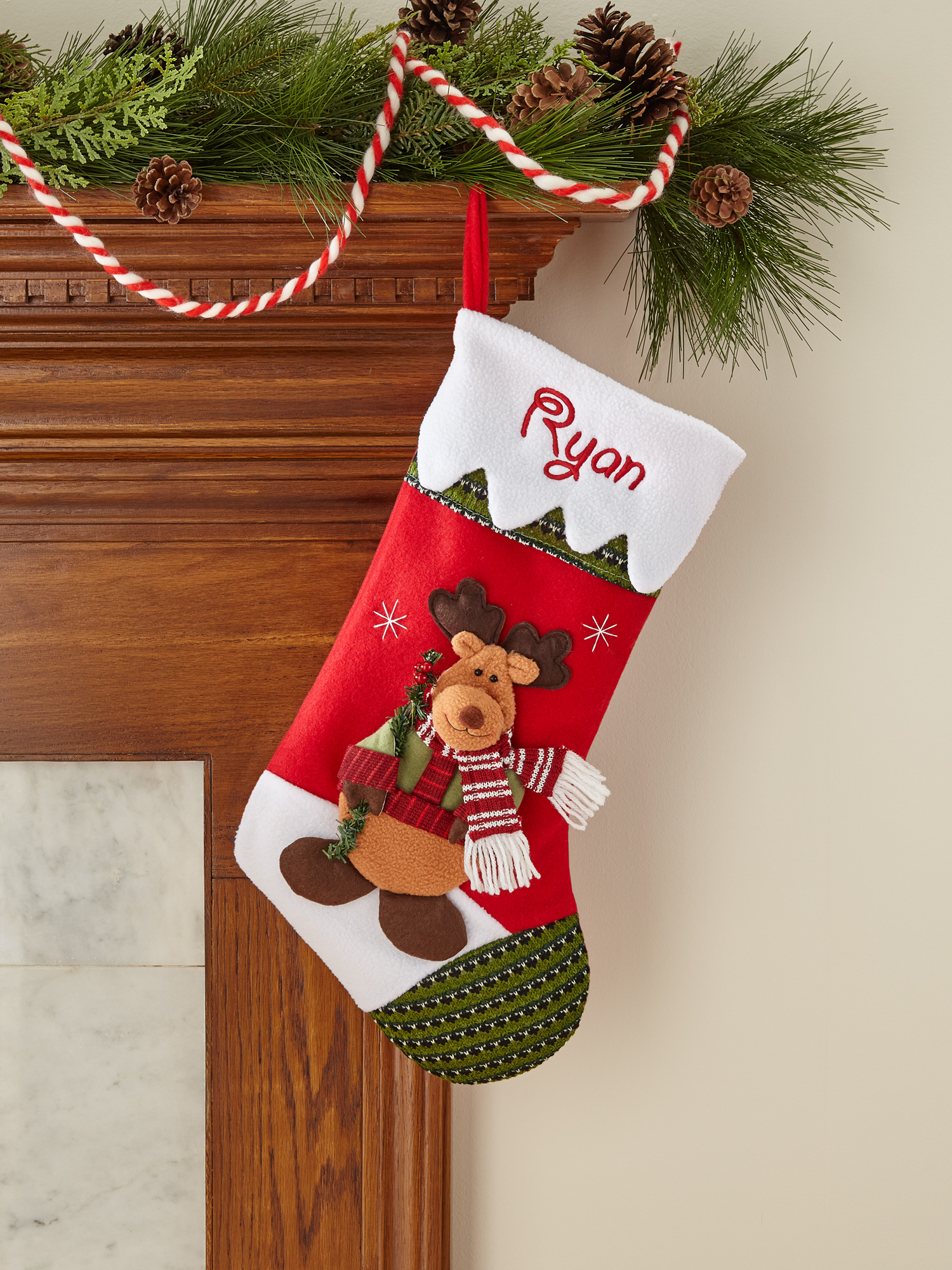 Personalized Snow Cap Christmas Stocking, Available in 11 Designs ...