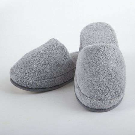 f4428462ee9fb TurkishTowels - Turkish Luxury Spa Slippers for Men and Women, 100% Cotton  Terry House Slippers Indoor/Outdoor, Made in Turkey - Walmart.com