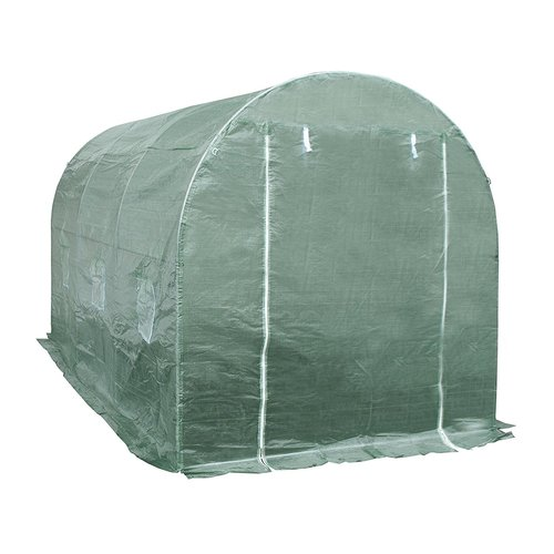 ALEKO Large Poly-Tunnel Walk-In Waterproof Plant Garden Outdoor Greenhouse Shed by ALEKO