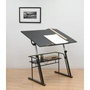 Studio Designs Zenith Height Adjustable Drawing Table in Black #13340