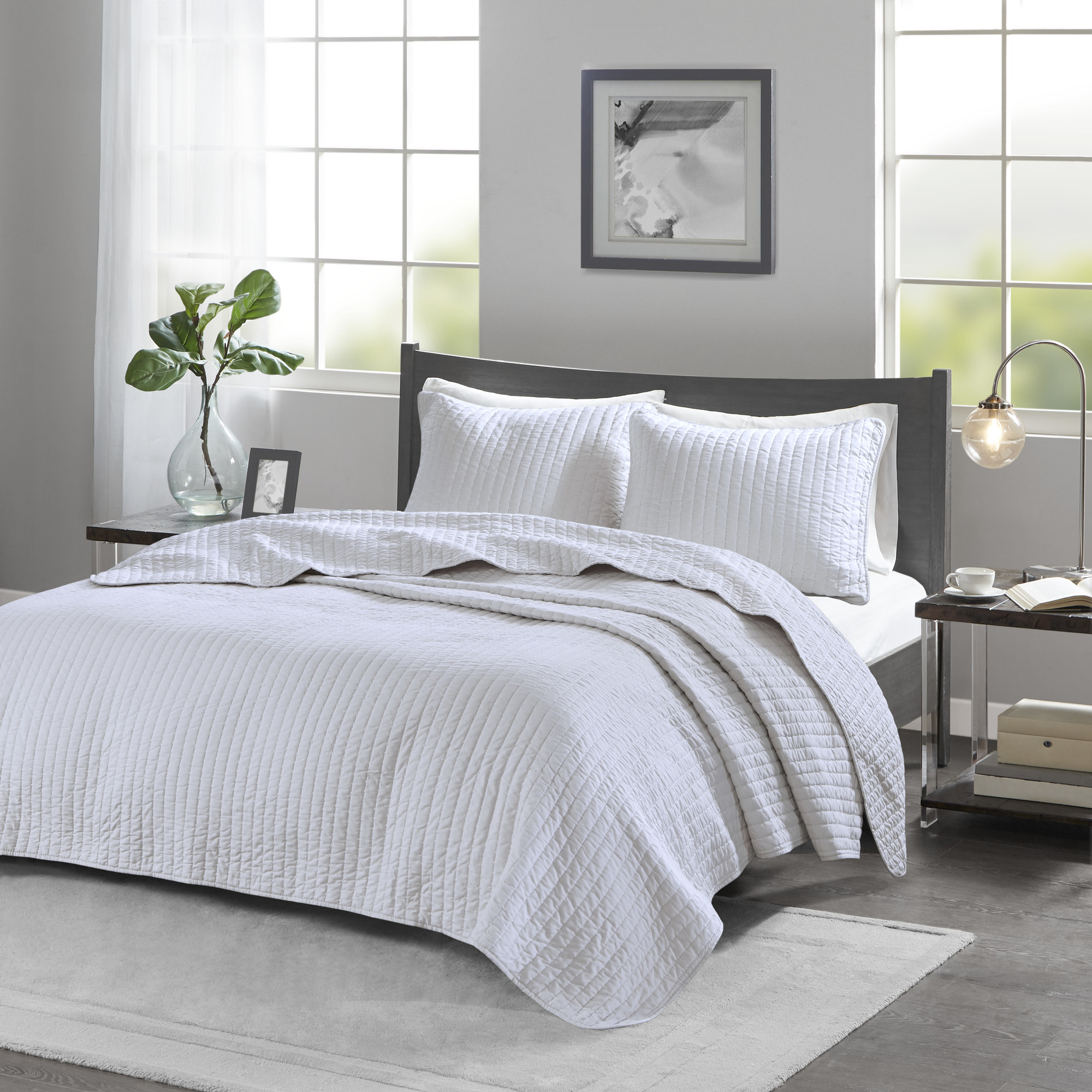 Home Essence Mitchell Reversible Coverlet Set