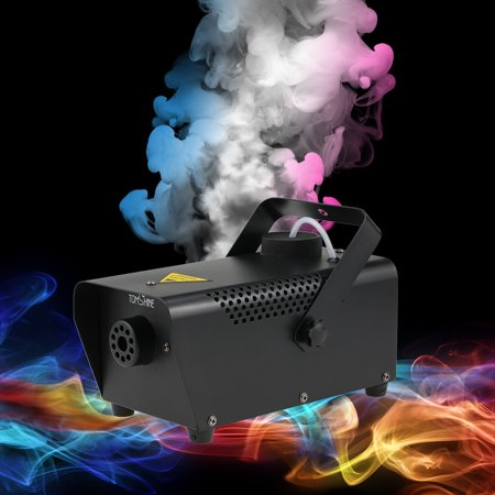Tomshine Portable Fog Smoke Machine with Wired Remote Control Total Power 400W for Halloween Wedding Function Home Party Club Pub Holiday - Halloween Punch That Smokes