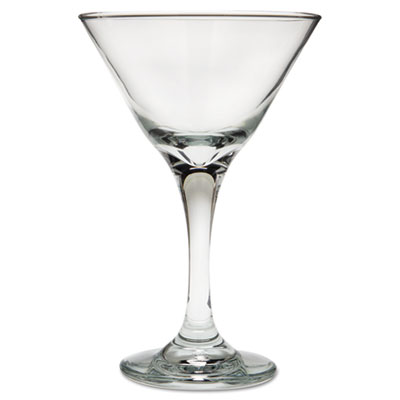 "Libbey Embassy Cocktail Glasses, Martini, 7.5 Oz, 6 3 8"" Tall by LIBBEY INC."
